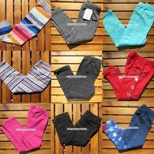 Gap 2T Girls Leggings x 9 Pairs $196 Retail